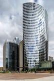 Artykuł wstępny, 14th 2016 Maj: Paryż, Francja Obrończy skyscrappers vi Zdjęcie Stock