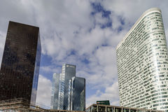 Artykuł wstępny, 14th 2016 Maj: Paryż, Francja Obrończy skyscrappers vi Zdjęcia Royalty Free