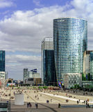 Artykuł wstępny, 14th 2016 Maj: Paryż, Francja Obrończy skyscrappers vi Fotografia Stock