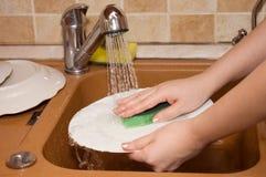 artykuły myje kobiety Zdjęcia Royalty Free