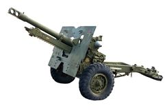 artyleria Obrazy Royalty Free