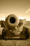 artyleria barrel broń pola Obraz Royalty Free