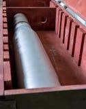 Artyleryjski ładunku kaliber 100mm Obraz Royalty Free