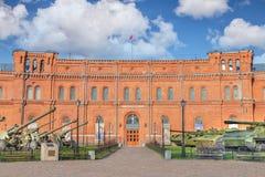 Artyleryjski muzeum w świętym Petersburg, Rosja Obrazy Royalty Free