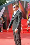 Artyom Mikhalkov στο φεστιβάλ ταινιών της Μόσχας Στοκ φωτογραφία με δικαίωμα ελεύθερης χρήσης