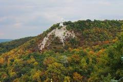 Artyom monument mounted on Bald Mountain Royalty Free Stock Photo