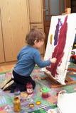 artystów potomstwa Zdjęcie Royalty Free