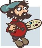 artysta komiks. zdjęcia stock