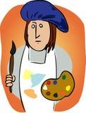 artysta kreskówka ilustracji