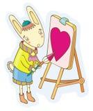artysta miłość Obrazy Stock