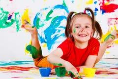 artysta szczęśliwy Obraz Stock