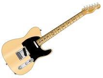 artysta wierzy fan Gibson gitarę nie kołysam Fotografia Stock