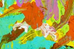 Artysty dziki projekt barwi tło ilustracja wektor