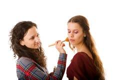 artysty makeup obrazy stock