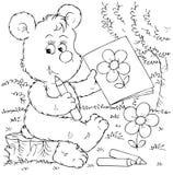 artysty niedźwiedź Zdjęcie Royalty Free