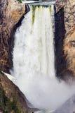 Artysty punktu siklawa - Yellowstone park narodowy obrazy stock