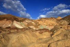 Artysty ` s paleta w Śmiertelnym Dolinnym parku narodowym fotografia stock