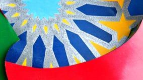 Artystyczna grafika kolor zdjęcia stock