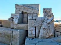 Artystyczna rzeźba w piasku zdjęcie royalty free