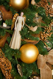Artystyczne Świąteczne Wakacyjne Drzewne dekoracje Fotografia Stock