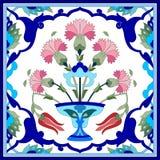 Artystyczne ottoman wzoru serie siedemdziesiąt jeden Zdjęcia Royalty Free