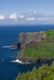 artystyczni clifs coloured Ireland moher Zdjęcia Royalty Free