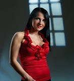 artystyczni piękni brunetki portreta potomstwa Zdjęcie Royalty Free