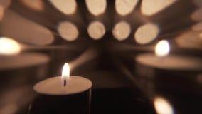 Artystyczny świeczka ruchu tło zbiory wideo