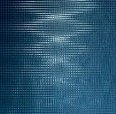 Artystyczny błękitny aqua wzór na czerni Obrazy Stock