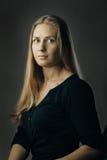 Artystyczny blond portret Fotografia Royalty Free