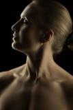 Artystyczny blond portret Zdjęcia Stock