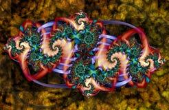 Artystyczny Fractal X Zdjęcia Royalty Free
