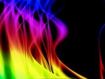 Artystyczny kolorowy abstrakcjonistyczny tło Obrazy Royalty Free
