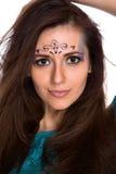 Artystyczny makijaż zdjęcia royalty free
