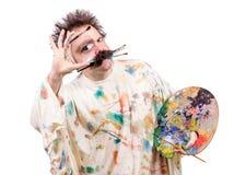 Artystyczny malarz Zdjęcie Stock