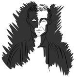 Artystyczny portret Julius Caesar ilustracji