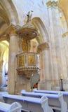 Artystyczny szczegół - katedralna ambona Obrazy Stock