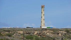 aruba加利福尼亚灯塔 免版税库存图片