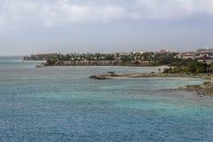 aruba海岸 免版税库存图片