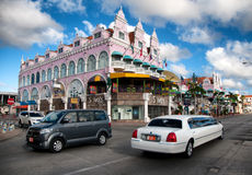 Aruba (Caribbean) - House exteriors at Oranjestad Royalty Free Stock Photography