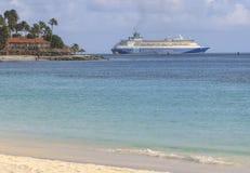 Aruba On The Caribbean Sea Royalty Free Stock Photo