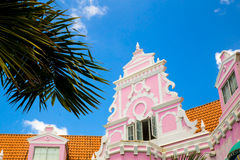 Aruba Dutch Architecture Stock Photography