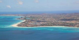 Aruba en el mar del Caribe Fotos de archivo