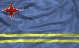 Free Aruba Flag 3 Stock Photos - 4886303
