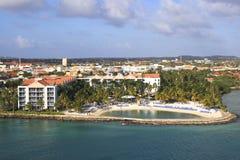 Aruba Harbour, Caribbean Royalty Free Stock Image