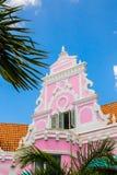 Aruba-Holländer-Architektur stockfotografie