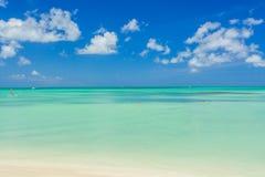 Aruba-Insel Ansicht vom Strand Stockfotografie