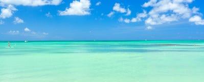 Aruba island. View from the beach Stock Photography