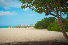 Aruba, Karibikinseln, Lesser Antilles Lizenzfreies Stockfoto