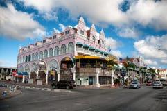 Aruba (karibisch) - bringen Sie Äußere bei Oranjestad unter stockfotos